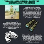 binoculars for hunting guide infpgraphic