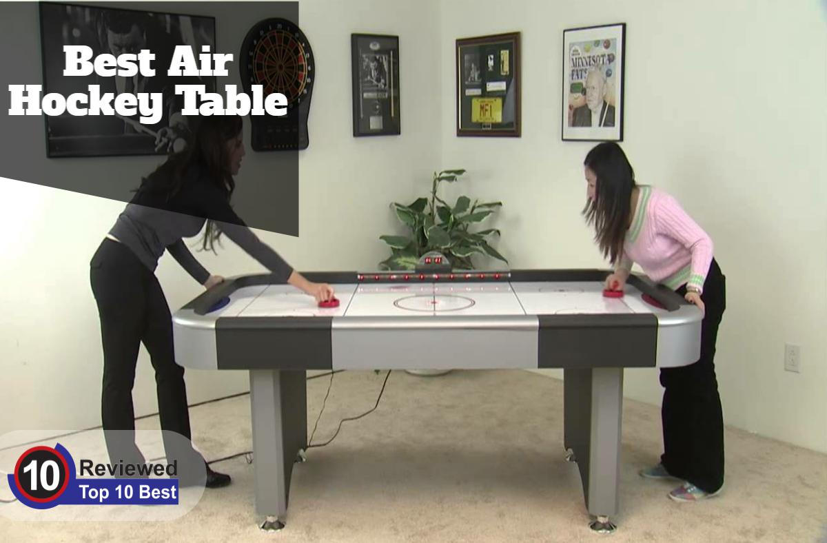 The Top 10 Best Air Hockey Table Reviews