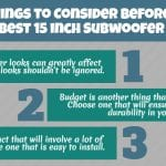 15 inch subwoofer buying guide