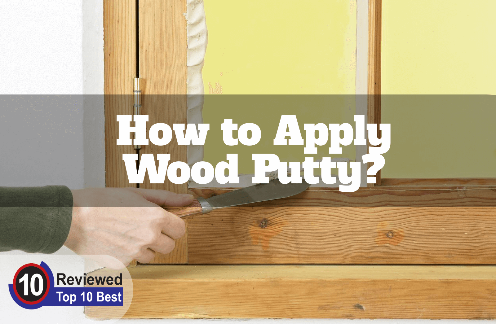 How long does wood putty take to dry