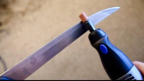 knife sharpening with a dremel
