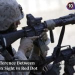 Difference Between Reflex Sight Vs Red Dot