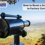 How to Reset a Scope to Factory Zero