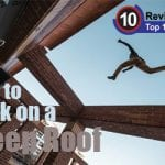 How to Walk on a Steep Roof