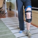 How to wear a knee brace with pants