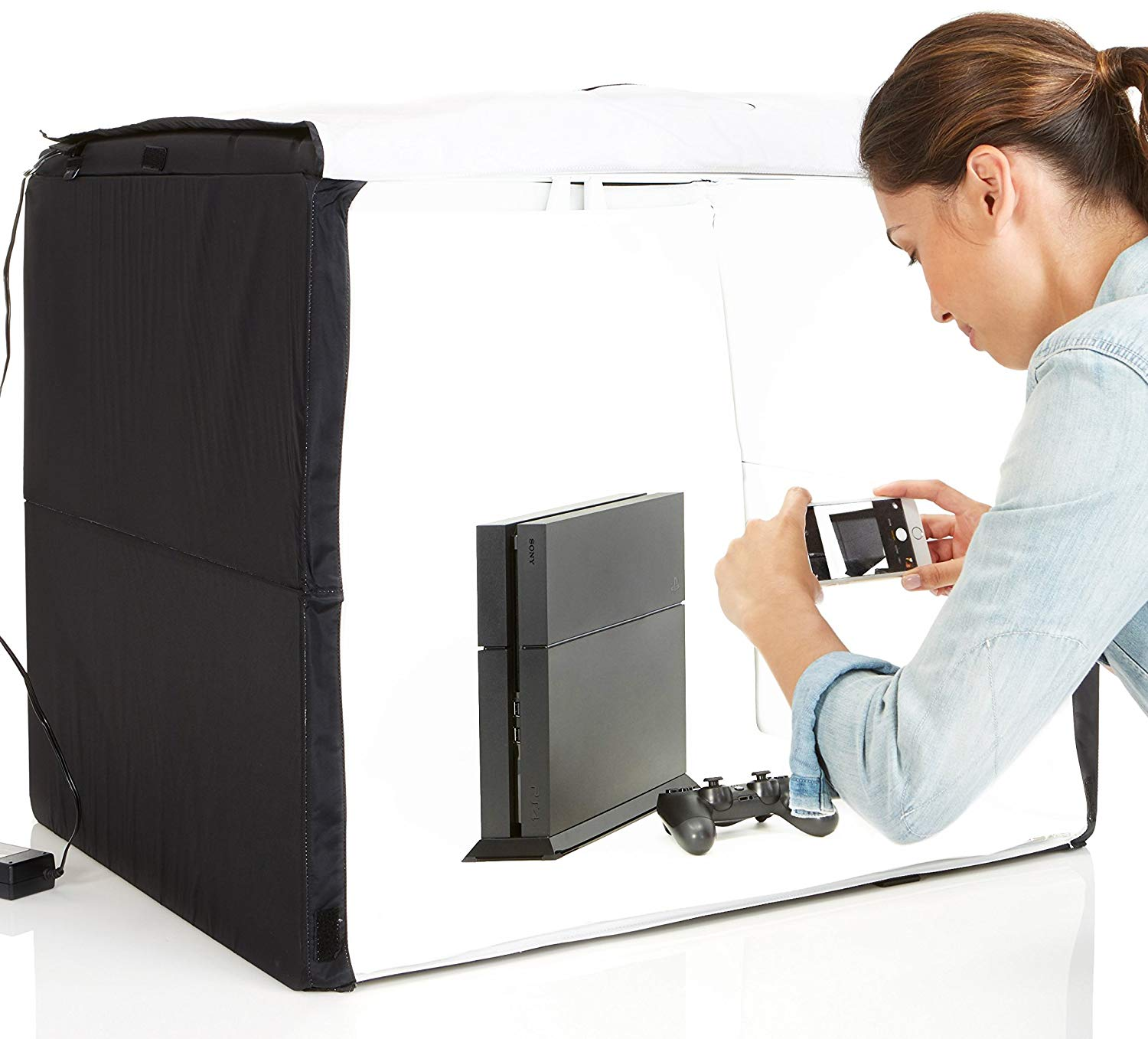 AmazonBasics Portable Foldable Photo Studio Box