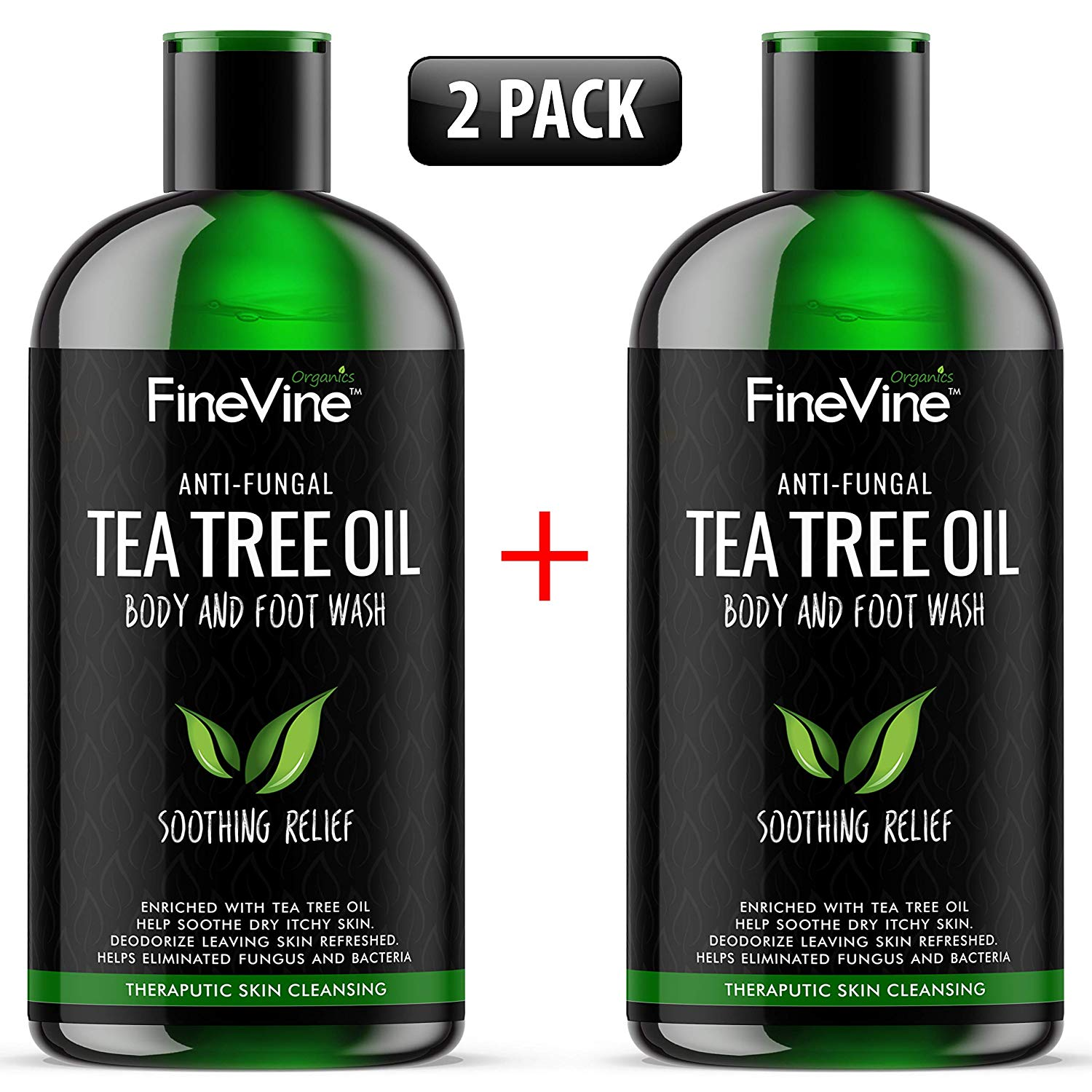FineVine Anti-Fungal Tea Tree Oil Body and Foot Wash
