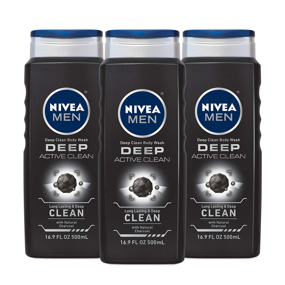 NIVEA Men DEEP Active Clean Body Wash