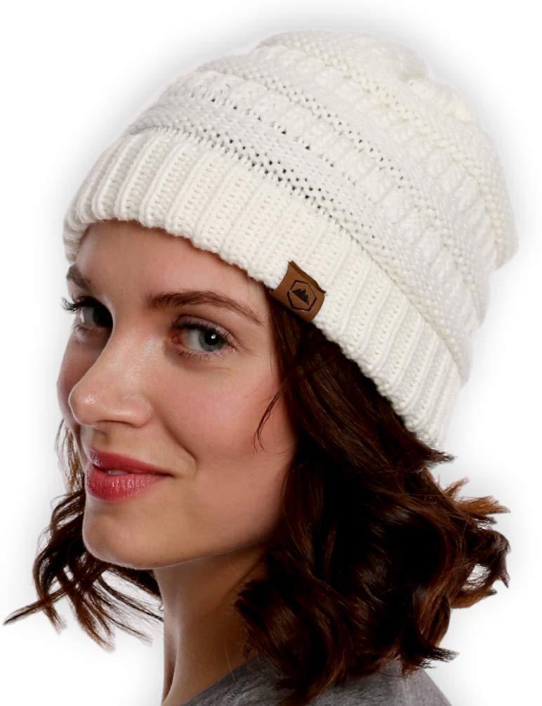 Tough Headwear Women's Cable Knit Beanie
