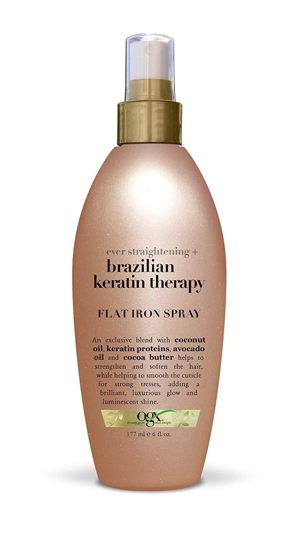OGX Ever Straightening + Brazillian Keratin Therapy Flat Iron Spray