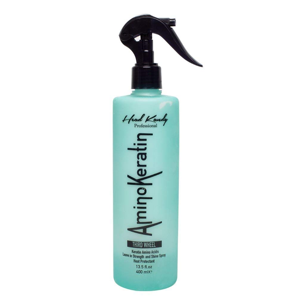 Third Wheel Heat Protectant Hair Spray - Flat Iron & Hair Dryer Thermal Protection