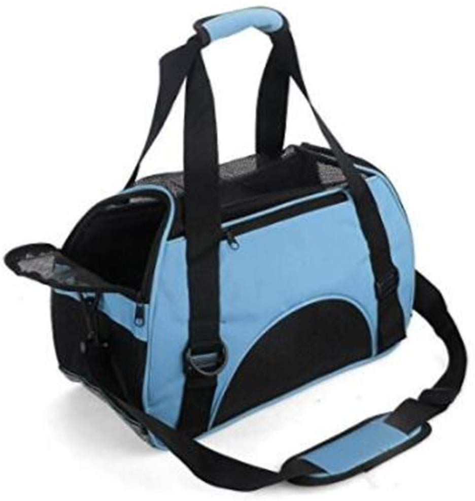 ZaneSun Cat Carrier, Soft-Sided Pet Travel Carrier for Cats