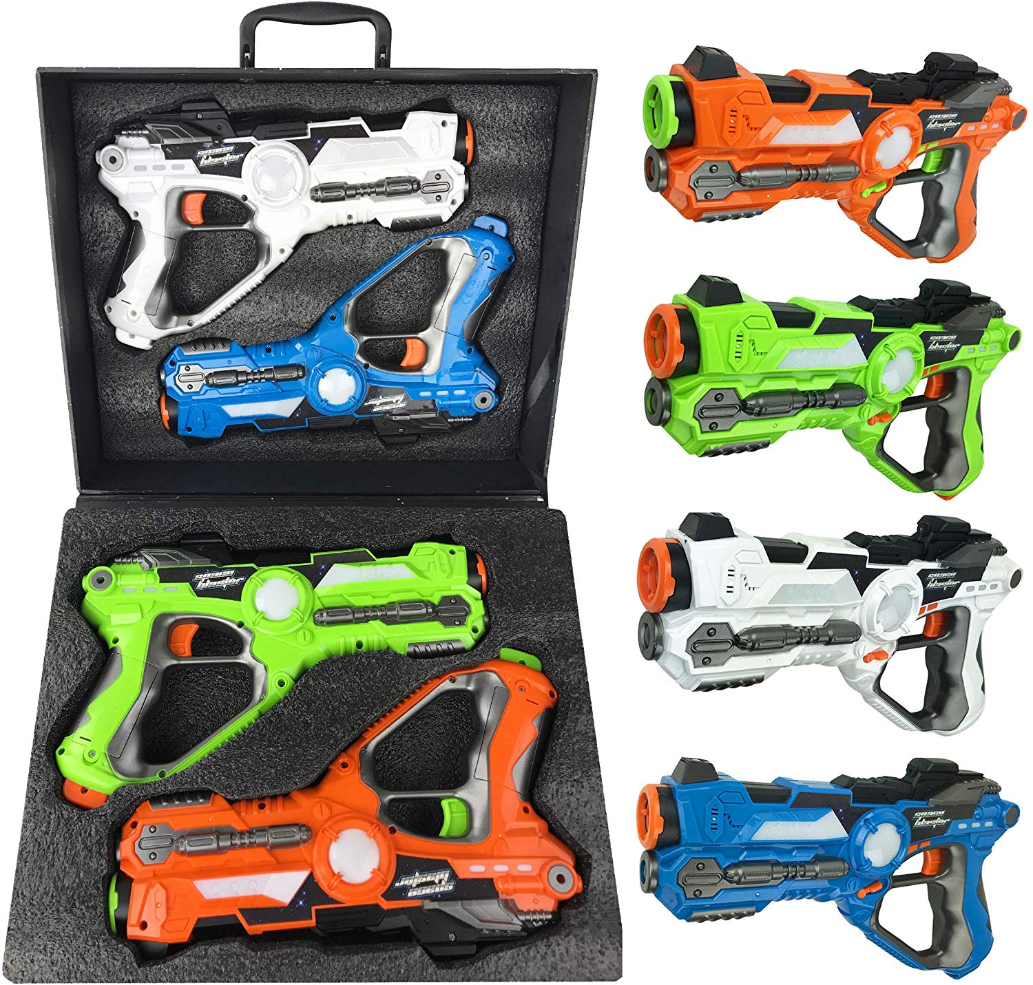 Liberty Imports Infrared Laser Tag 4 Players Game Set for Kids