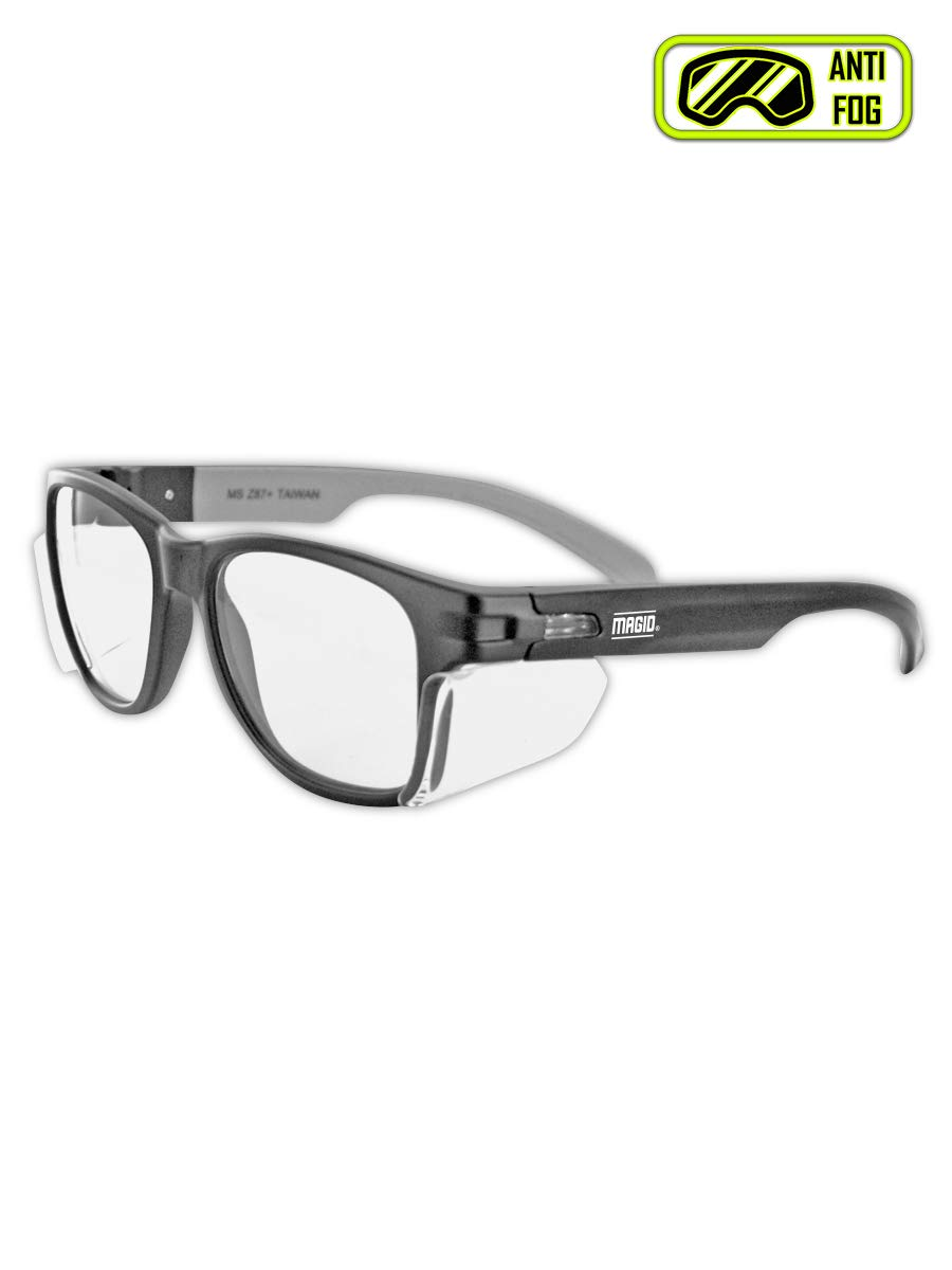 MAGID Y50BKAFC Iconic Y50 Design Series Safety Glasses with Side Shields