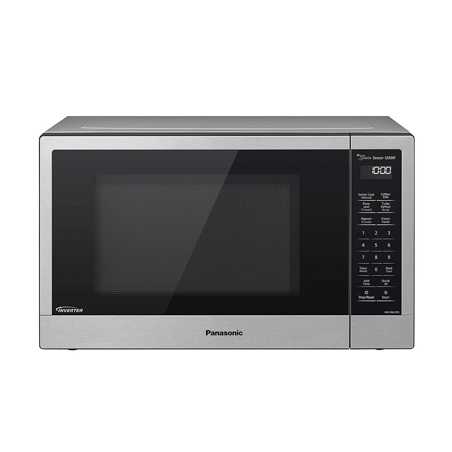 Panasonic Compact Microwave Oven with 1200 Watts of Cooking Power
