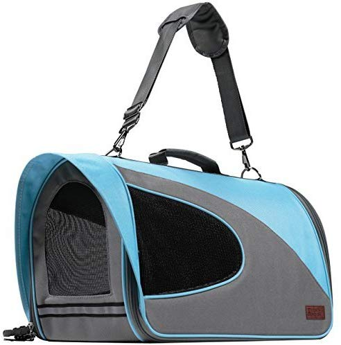 Friends Forever Airline Approved Pet Carrier for Cats, Small Dogs