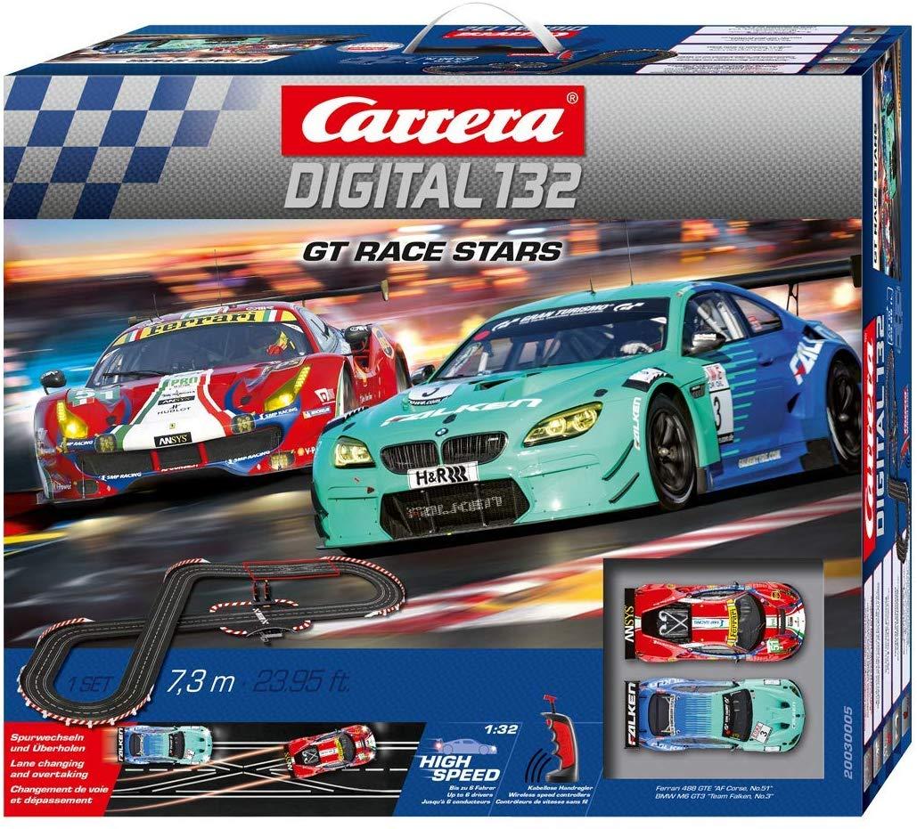 Carrera 30005 Digital 132 GT Race Stars Slot Car Racing System Set
