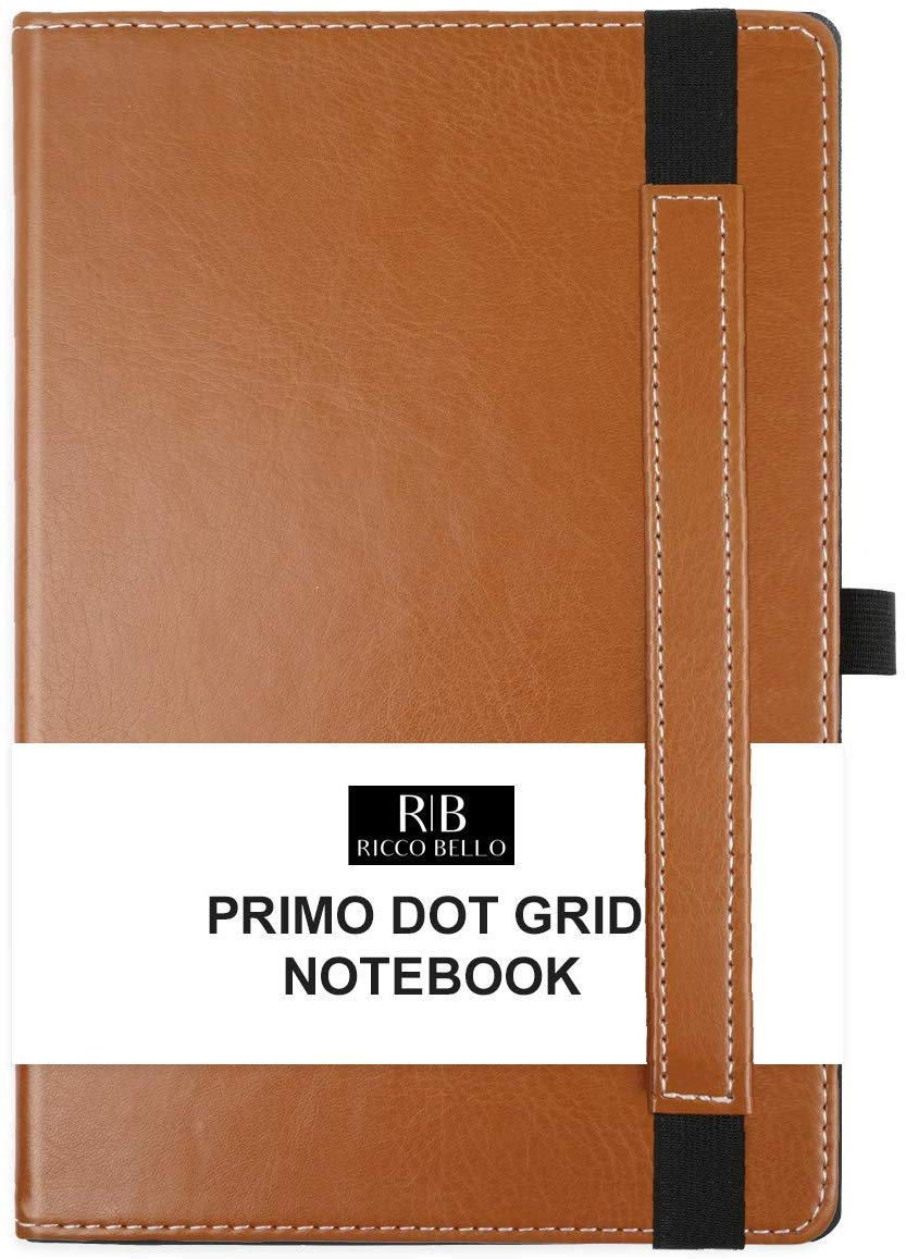 RICCO BELLO Primo Hardcover Dotted A5 Notebook