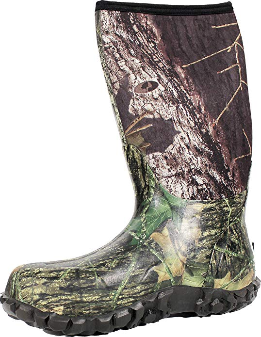 Bogs Men's Classic High No Handle Waterproof Insulated Rain and Winter Snow Boot.