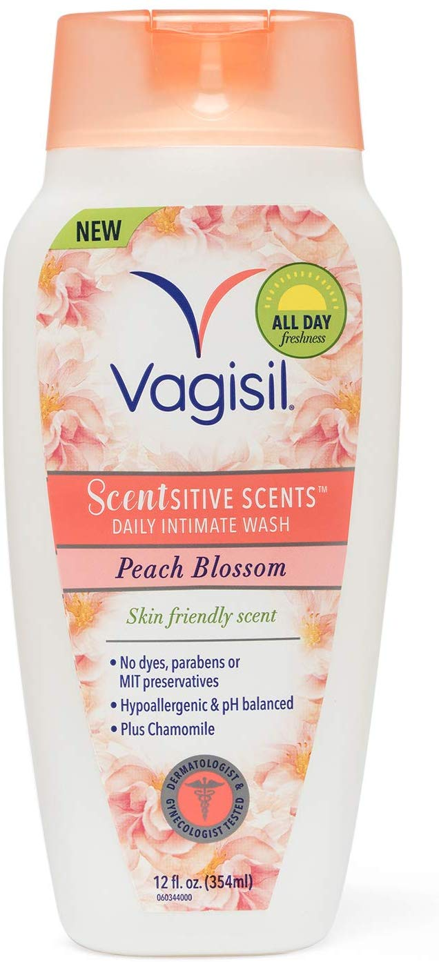 Vagisil Scentsitive Scents Daily Intimate Feminine Vaginal Wash