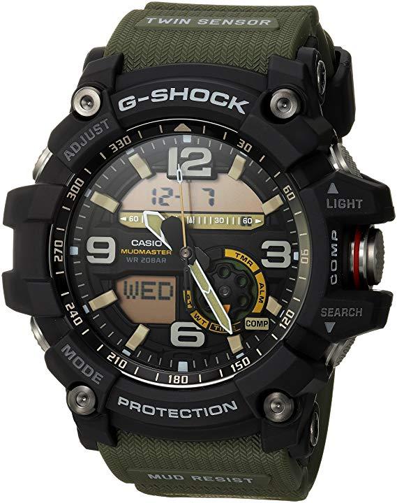 Casio Men's GG-1000-1A3CR Mudmater G-SHOCK Quartz Casual Watch