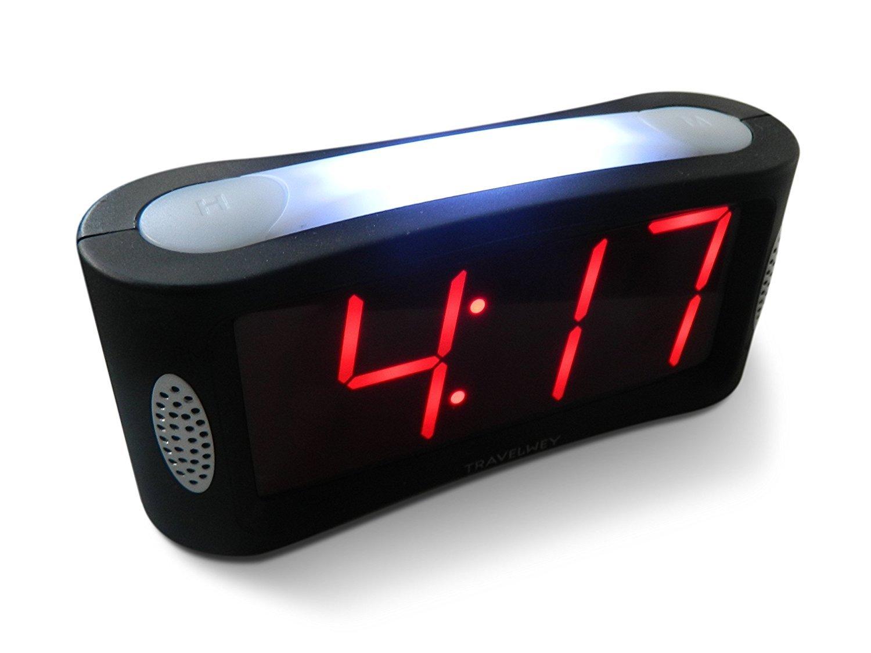 Travelwey Home Led Digital Alarm Clock- Outlet Powered