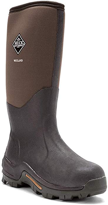 Muck Wetland Rubber Premium Men's Field Boots.