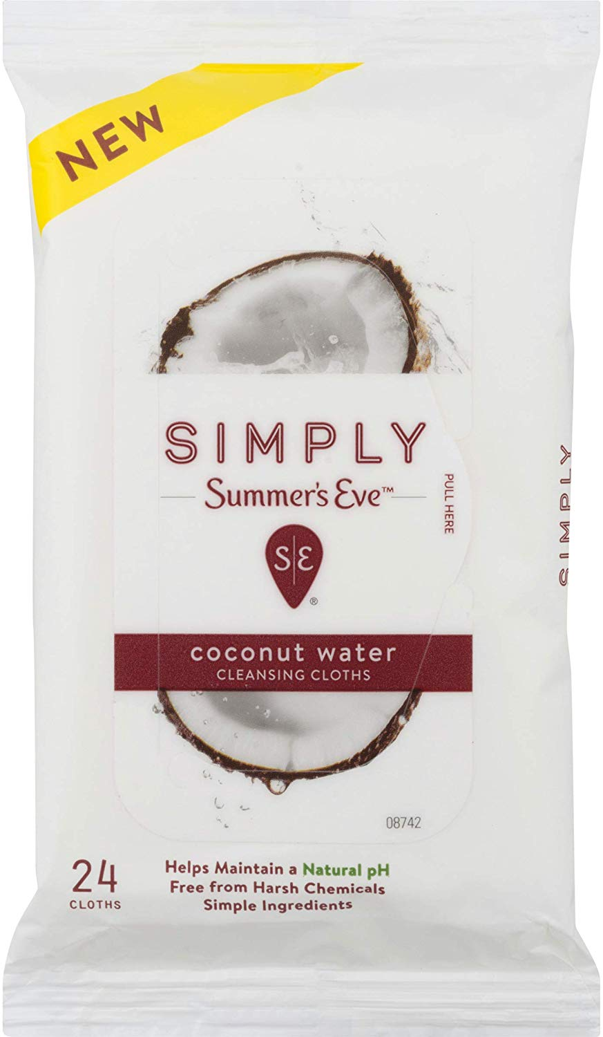 Summer's Eve Simply Cloths | Coconut Water
