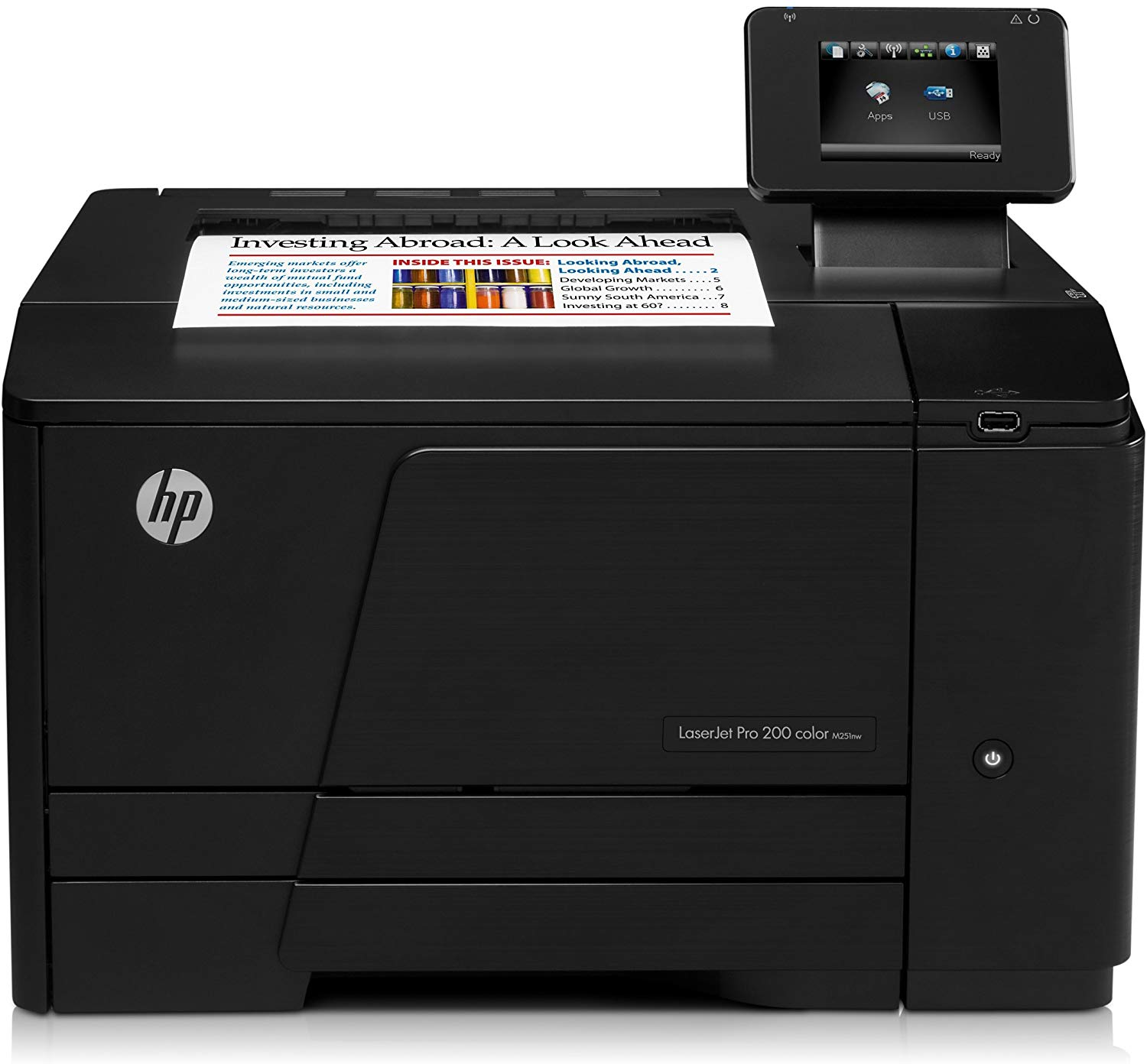 HP LaserJet Pro 200 M251nw Wireless Color Printer (Old Version)