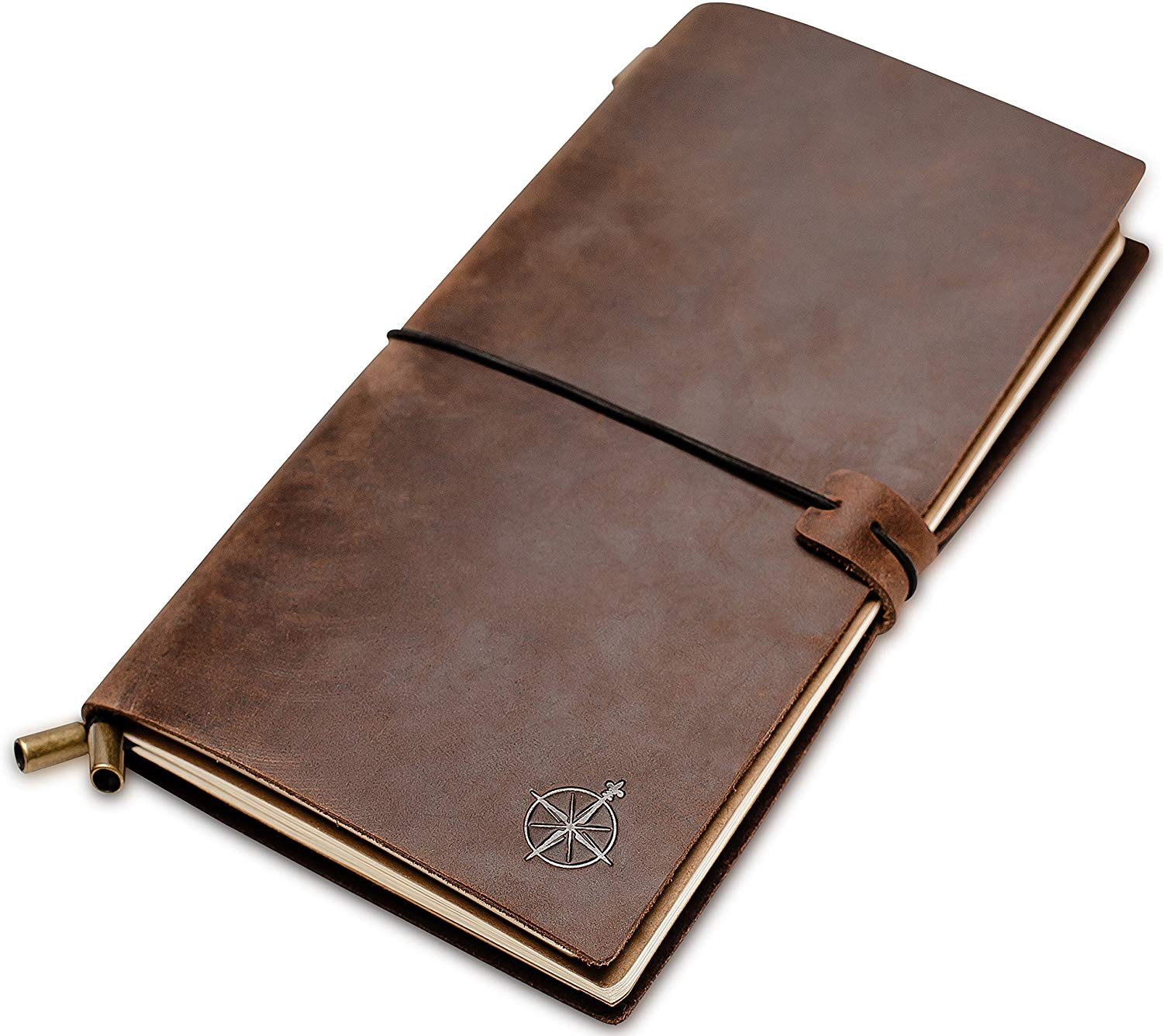 Leather Notebook - Refillable Travel Journal