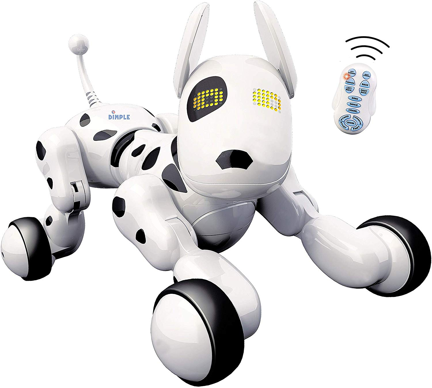 Dimple Interactive Robot Puppy With Wireless Remote Control RC Animal Dog Toy