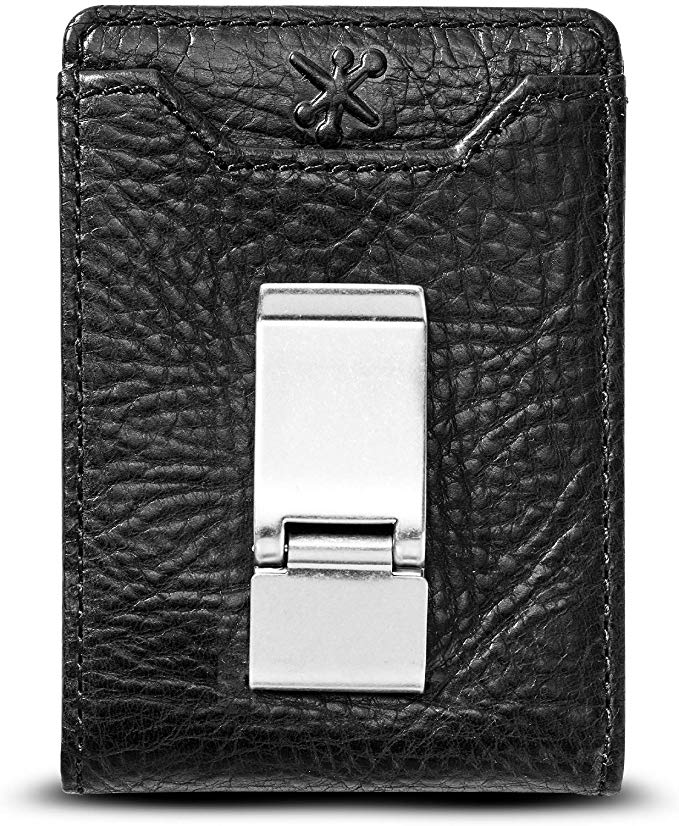 HOJ Co. DEACON ID BIFOLD Front Pocket Wallet-Full Grain Leather