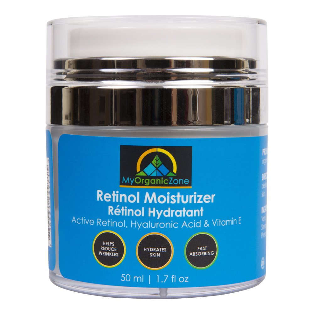 Facial Moisturizer. Preservative Free. Organic & 100% Natural Face Moisturizing Cream for Sensitive
