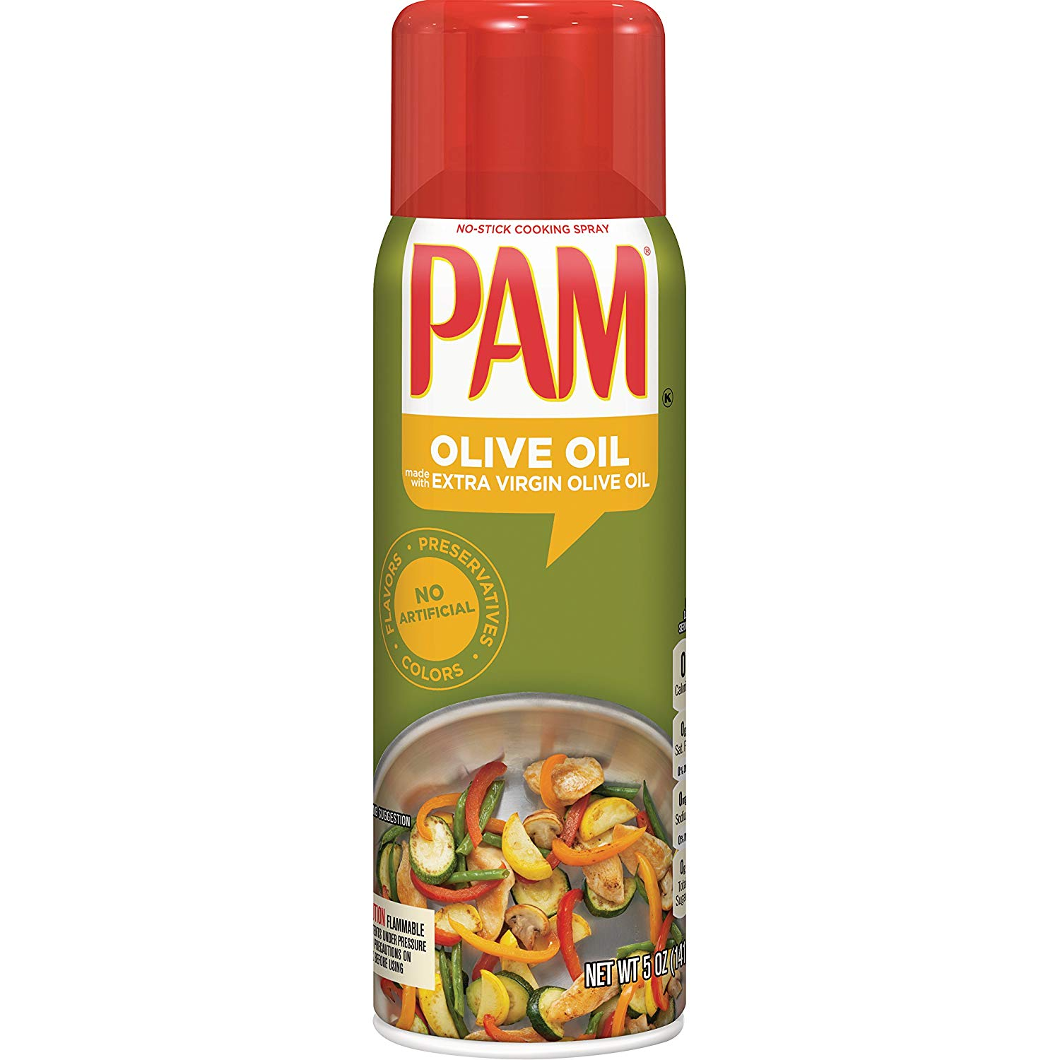 PAM Olive Oil Cooking Spray, 5 oz.