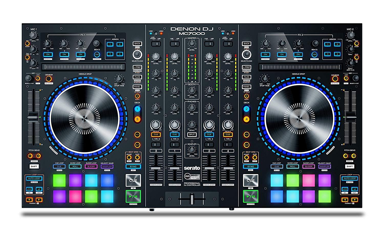 Denon DJ MC7000   Professional DJ Controller with Dual Audio Interface for Serato DJ (Included)