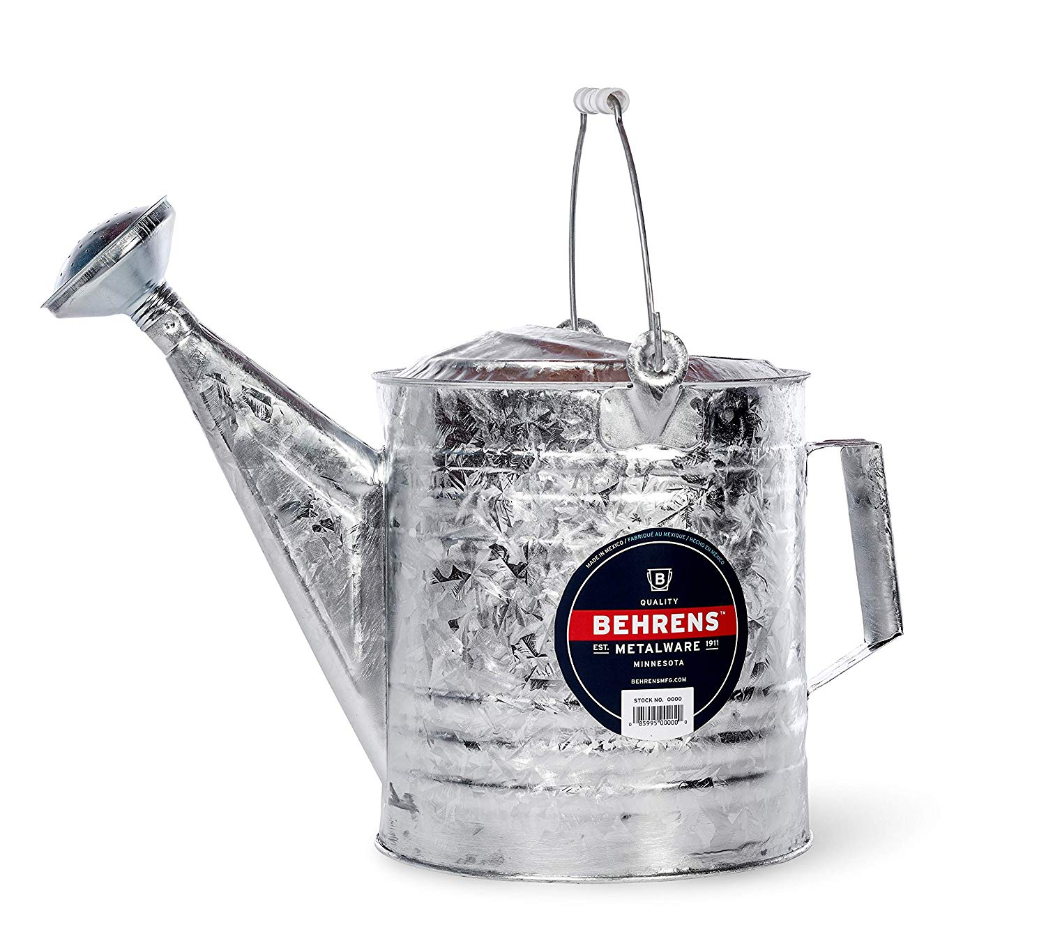 Behrens 210 2-1/2-gallon Steel Watering Can, Silver: