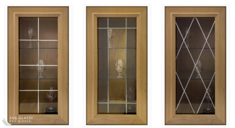 Leaded Glass Cabinet Glass