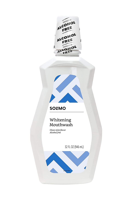 Amazon Brand - Solimo Whitening Mouthwash