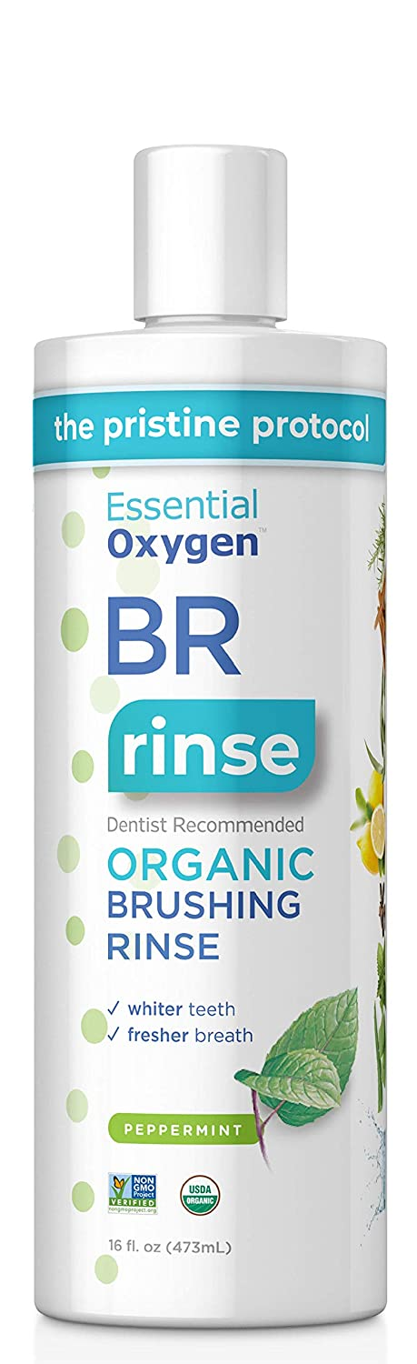 Essential Oxygen Certified BR Organic Brushing Rinse